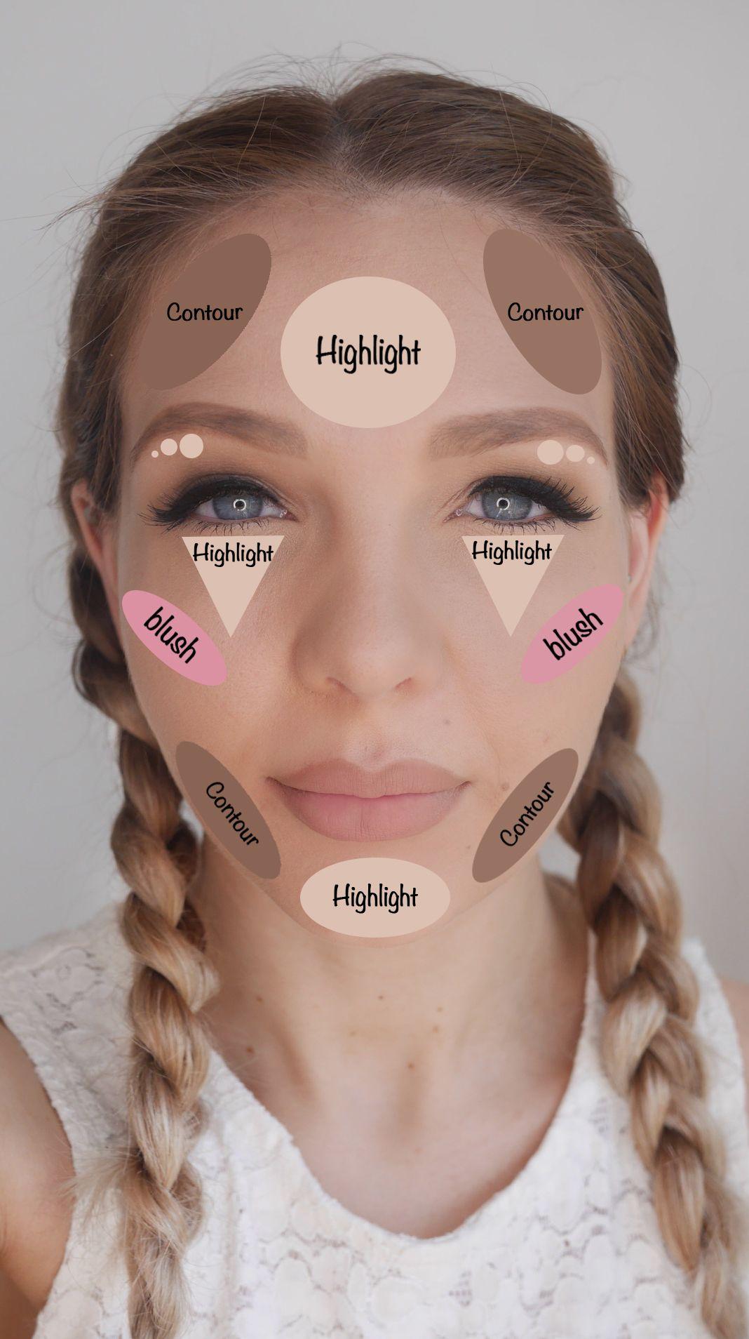 contorno-iluminador-maquillaje